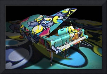 Free Form Jazz and Graffiti Expression - 3D Model