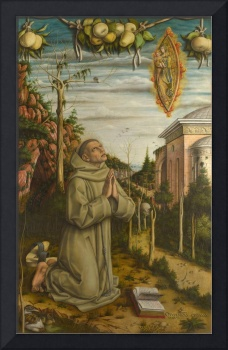 Carlo Crivelli - The Vision of the Blessed Gabriel