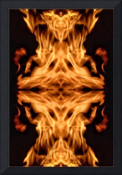 Abstract Fire #1 on 27 April 2017