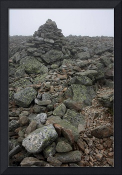 Trail-side Cairn