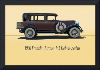 1930 Franklin Airman 145 Deluxe Sedan w/ID
