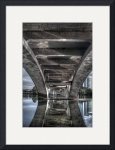 Under the Lamar Blvd Bridge by Dave Wilson