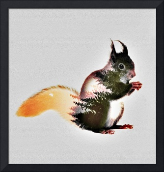 squirrel art