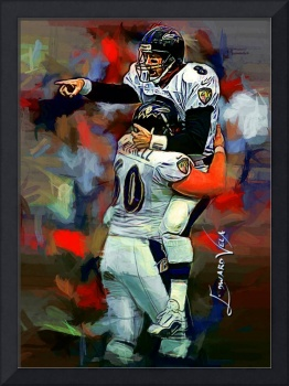 Trent Dilfer #2 Wall Art by Edward Vela