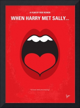 No405 My When Harry Met Sally minimal movie poster