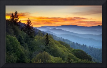 Great Smoky Mountains National Park - Morning Haze