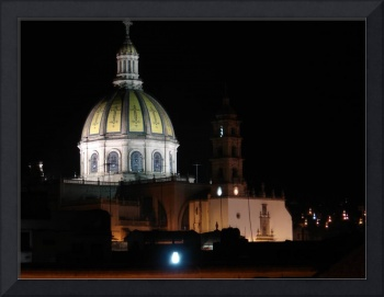 Beatifull picture of the Chuch Señor de La Piedad