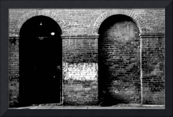 Brickwork in Black and White