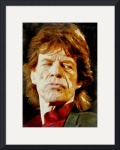 Mick Jagger by Charmaine Zoe
