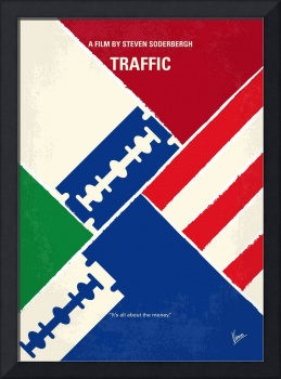 No739 My Traffic minimal movie poster