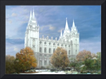 Salt Lake Temple / Winter