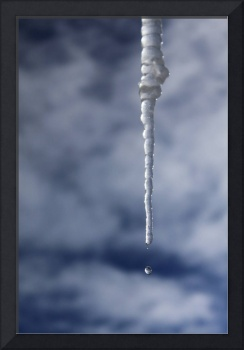 Icicle And Water Drop