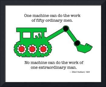 Machine & Extraordinary Man