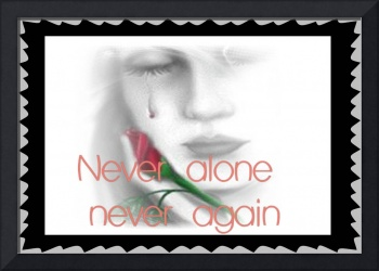 Never Again Narcotics Anonymous Poster