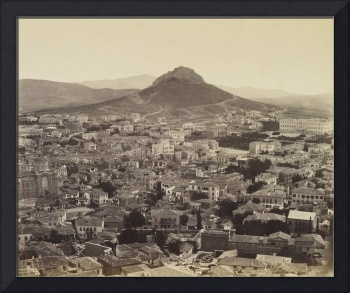 Francis Bedford (1815-94) - Athens, the modern cit