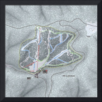 Mt Lemmon Resort Trail Map