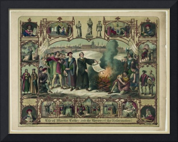 Life of Martin Luther and heroes of the reformatio