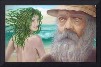 Old Man and the Sea Nymph