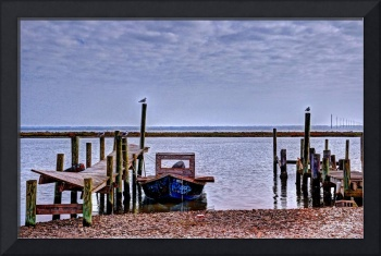 Oyster boat at East Point, FL
