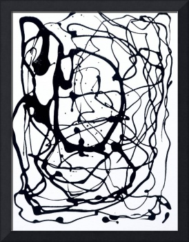9103, #1, ABSTRACT PAINTED PHOTOGRAPHIC ART COLLEC