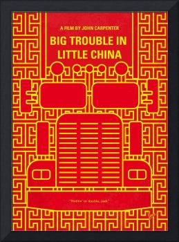 No515 My Big Trouble in Little China minimal movie