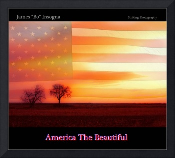 America the Beautiful Country Poster