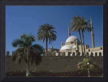 Mohammed Ali Mosque In Citadel Of Cairo, Egypt