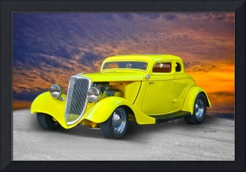 1934 Ford 'Chopped' Coupe III