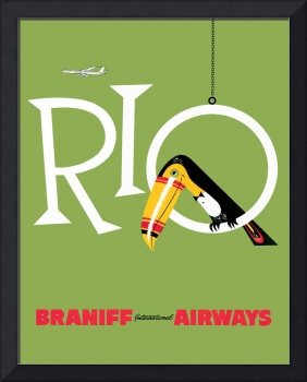 Braniff Airways Rio 1