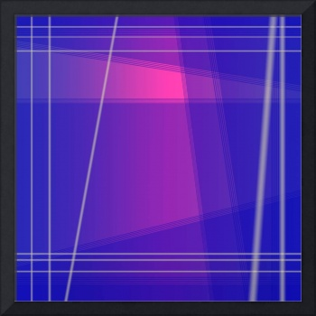 Fun With Colors Abstract Crossing Lines 1