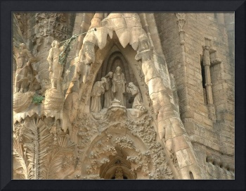 Gaudi. Holy Family Cathedral. Barcelona