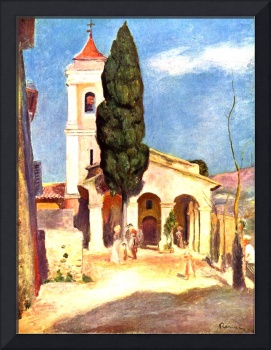 Church in Cagnes
