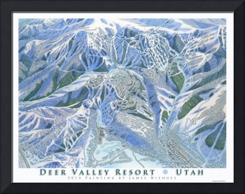 Deer Valley 2014 Trail Map Image