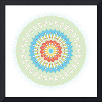 Mandala 1 colour 2