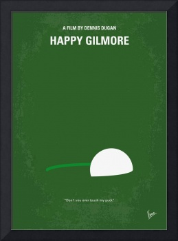 No256 My Happy Gillmore minimal movie poster