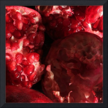 Pomegranates - Square
