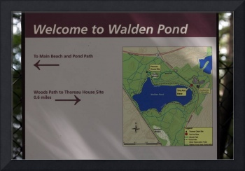 Welcome to Walden Pond
