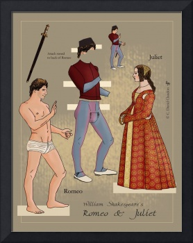 Romeo and Juliet Paper Dolls, 001