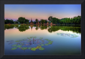 Sukhothai Historical Park Reflection