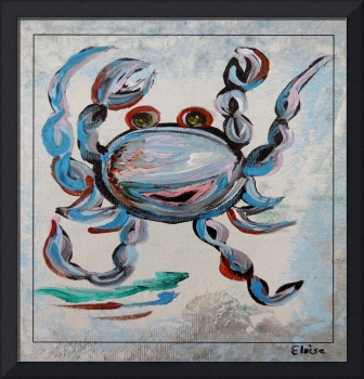 Blue Crab Dancing