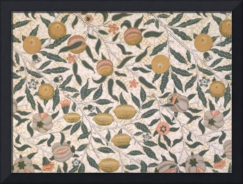 Pomegranate design for wallpaper
