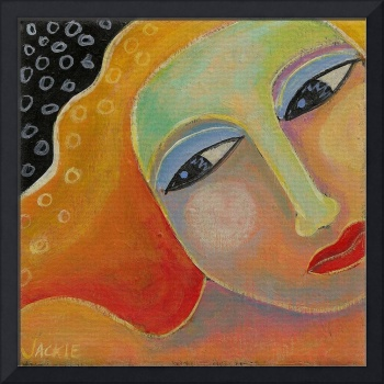 Beautiful Abstract Portrait of a Woman