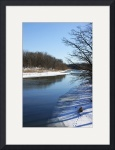 Rocky River Winter by Rich Kaminsky