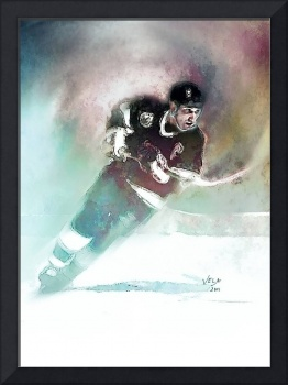 Wayne Gretzky, Los Angeles Kings, NHL Art