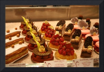 Desserts at Bellagio Pastry Store