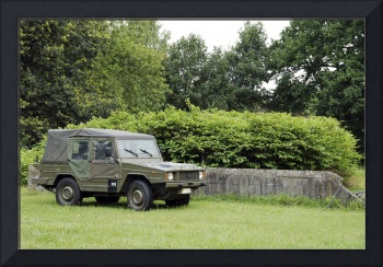 The VW Iltis Jeep used by the Belgian Army