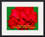 Christmas Hibiscus Card 2008 by Jacque Alameddine