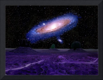 Andromeda as Seen from an Astral Isle