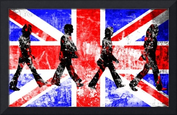 Beatles - Abbey Road - Pop Art