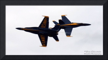Blue Angels Head on Pass